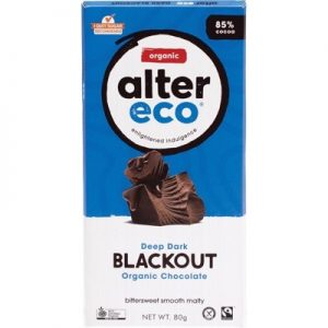 Organic Dark Blackout Chocolate - ALTER ECO - 80g