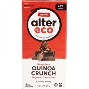 Organic Dark Quinoa Chocolate - ALTER ECO - 80g
