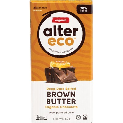 Dark Brown Butter Chocolate - Organic - ALTER ECO - 80g