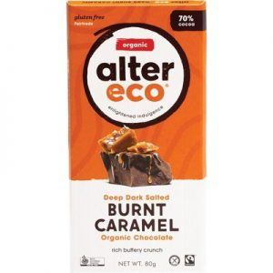 ALTER ECO Chocolate (Organic) - Dark Salted Burnt Caramel 80g
