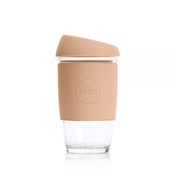 JOCO Perfect Reusable Glass Cup Extra Small 6oz (177ml) - Amberlight