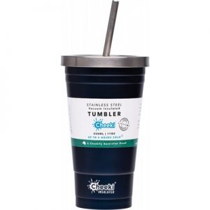 Best Insulated Tumbler Ocean - With S/Steel Straw 500ml