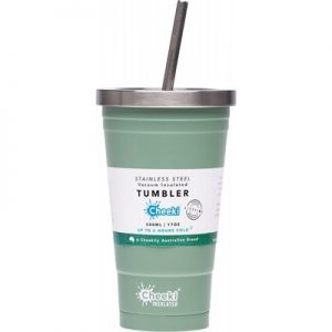 Insulated Stainless Steel Tumbler - CHEEKI - With S/Steel Straw