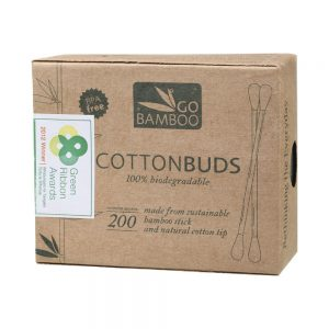 GO BAMBOO Cotton Buds x 200