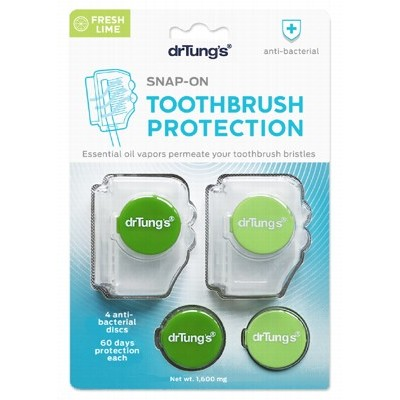 DR TUNG'S Toothbrush Protection - Includes 2 Refills