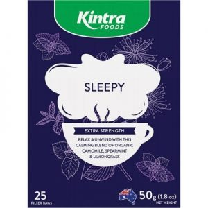 Sleepy Tea Bags - KINTRA FOODS Herbal Tea Bags - Sleepy x 25