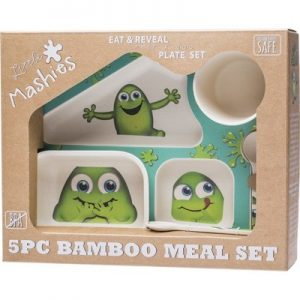 BiodegradableBamboo Meal Set - LITTLE MASHIES 5pc
