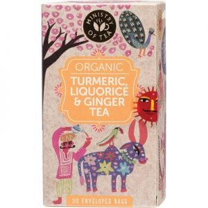 MINISTRY OF TEA Turmeric, Liquorice & Ginger Tea x 20