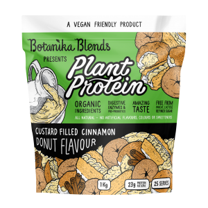 Plant Protein - Custard Filled Cinnamon