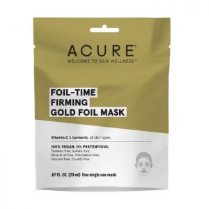 Firming Gold Foil Mask 20ml - ACURE Foil -Time