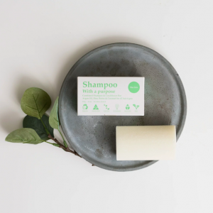 SHAMPOO WITH A PURPOSE - Shampoo & Conditioner Bar - The O.G. - For All Hair Types 135g