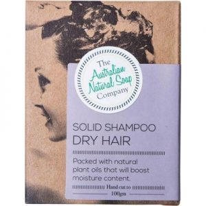 Dry Hair Solid Shampoo Bar - THE AUST. NATURAL SOAP CO -100g