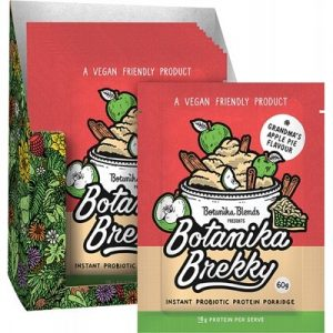 BOTANIKA BLENDS - Brekky Probiotic Porridge - Apple Pie 1 x60g