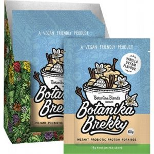 BOTANIKA BLENDS - Brekky Probiotic Porridge - Vanilla Dream 1 x60g