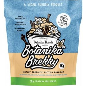 BOTANIKA BLENDS - Brekky Probiotic Porridge - Vanilla Dream 1kg