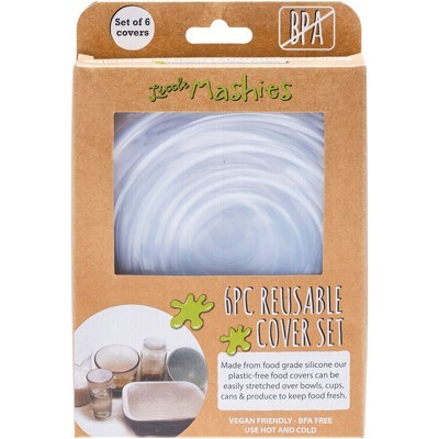 Reusable Bowl Cover Set - LITTLE MASHIES - Pack Of 6