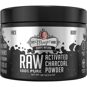 Detoxing Activated Charcoal Powder - Powerful - MY MAGIC MUD - 99.2g