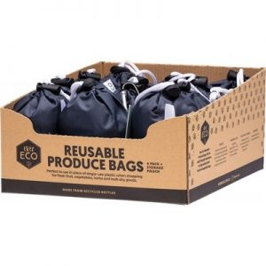 Reusable Produce Bags - EVER ECO - Recycled Polyester Mesh 4pk