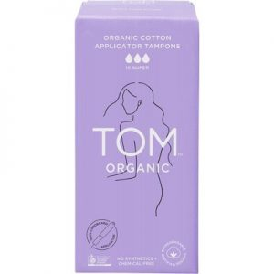 Super Applicator Tampons x 16 - TOM ORGANIC